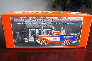 SpecCast Crown 1936 Dodge Tanker Diecast Coin Bank Chrysler Licensed Product NIB