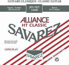 Savarez 540R Red Alliance Normal Silver Plated Classical Guitar Nylon Strings