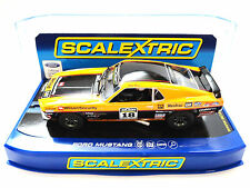 """Scalextric """"Wilson Security"""" Ford Mustang Boss 302 DPR 1/32 Slot Car C3671"""