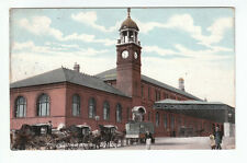 Trinity Street Railway Station (Demolished 1980's) Bolton Lancashire 14 Dec 1907