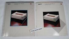 Vintage Apple ImageWriter User Manuals PART 1 & 2 Reference Guide, Book, Manual