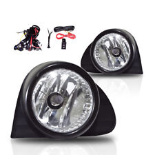 03-05 For Toyota Echo Clear Lens Pair Bumper Fog Light Lamp+Wiring+Switch Kit