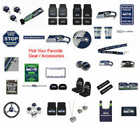 New NFL Seattle Seahawks Pick Your Gear / Car Accessories Official Licensed