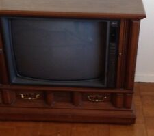 Vintage Zenith 25 Inch Console Television
