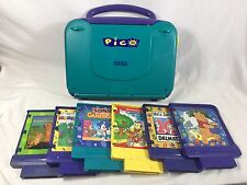 Sega Pico Game Console Learning System with 6 Games I Spy Pooh 101 Dalmations