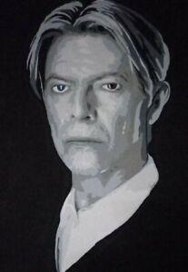 Large Original David bowie painting
