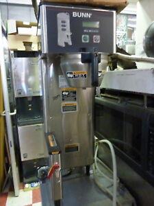 BUNN  COFFEE MACHINE MODE TF-DBC, 208V,1PH,HOT WATER TAP, S/S ,900 ITEMS ON EBAY