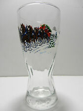 Budweiser Clydesdales 15 Ounce Pilsner Beer Glass NEW Indiana Glass 1996