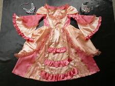 3 / 4 ans - déguisement - robe princesse + diadème + collier - comme NEUVE fille