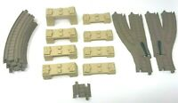 Fisher Price Thomas & Friends Train TrackMaster Track Risers Curved 16 Pieces