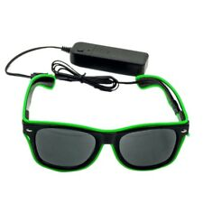 Flashing EL Wire Led Glasses Luminous Party DJ Decorative Lighting SunGlasses
