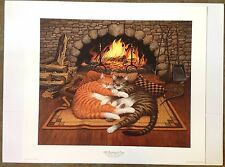"""Charles Wysocki """"All Burned Out"""" S/N Ltd Ed Print with COA #410/6500"""