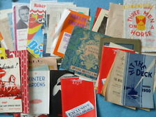 1980s Collectable Theatre Programmes (1950s)