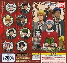 Kuroko's Basketball Capsule Can Badge Collection in X-mas All Eight Capsule Toys
