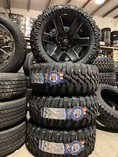 4 New Fuel Off Road 20x10 ford F150 Federal Xplora 33X12.50R20 Mud Tires