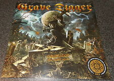 "GRAVE DIGGER-EXHUMATION-2015 LP+7"" GOLD VINYL-LIMITED TO 100-NEW+SEALED"
