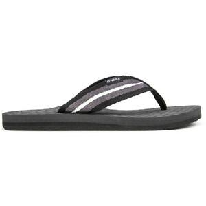 ONEILL Mens Arch Flip Flops Sandals Grey