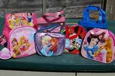 Disney - Girls - Boys Bags - Princess - Frozen - Peppa Pig - Dora - Mickey Mouse