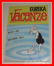 EUREKA VACANZE 1969 Supplemento al N 21 EDITORIALE CORNO