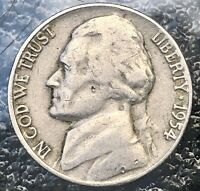 "1954 D Jefferson Nickel - RPM- D/D West - ""Best Of Variety"" Error  001-002"