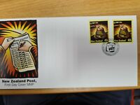 New zealand stamps  FDC 1996 2 votes