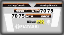 Serie Decalcomania-Adesivi Per trattore Fiat 70-75DT...Cingolato..