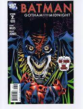 DC Comics, Batman: Gotham After Midnight #7, Jan 2009 - NM (Unread copy)