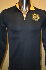 Majestic NHL Mens Boston Bruins 1/4 Zip Pullover NWT $55 S