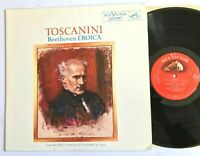 TOSCANINI / BEETHOVEN EROICA RCA Victor LM 2387 (US Shaded Dog)