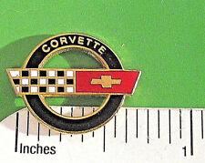 Corvette C4  C 4 logo - hat pin , hatpin , lapel pin , tie tac  GIFT BOXED jb