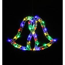 coloré lumière LED simple cloches Intérieur / extérieur décoration de Noël Noël
