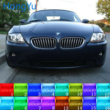 for BMW Z4 E85 E86 02-08 Multi-color RGB LED Angel Eyes Halo Ring RF Control