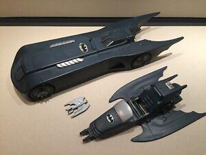 Voiture BATMAN BATMOBILE DC COMICS KENNER TONKA 1993, missile! cockpit abimé