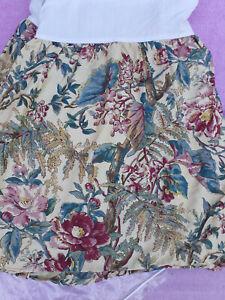 """Ralph Lauren Home Bed Skirt-Tangiers-Queen-Cotton Sateen-17"""" Drop Split Corners"""