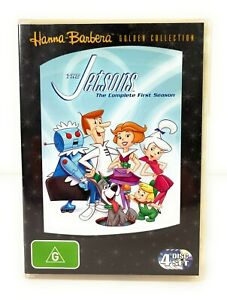 The Jetsons DVD The Complete First Season 1 1st Region 4 Free Postage