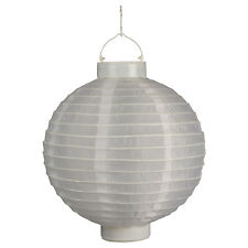 Luxform Lighting Solar Chinese Style Lantern in White
