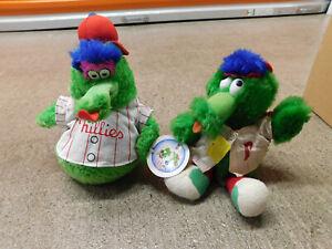 Lot 1978 Vtg Phanatic Plush Harrison Erickson Philadelphia Phillies & Puppet toy