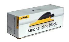 Mirka Handblock Kunststoff  mit Absaugstutzen 70 x 198 mm Klett 22-Loch