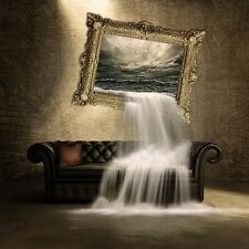 """perfact 30x30 oil painting handpainted on canvas """"water from oil painting """"@N284"""