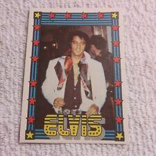 1978 Monty Gum - ELVIS PRESLEY - Club Card From Holland - (Blank Back) - Card 18
