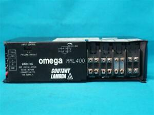 Omega Coutant Lambda MML400 5B5B5C12/12E Power Supply 400W w/ Breakage