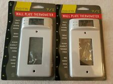 Wallplate Switch Cover With Digital Thermometer by Plate Pals #12100