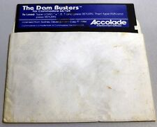 Commodore 64/128: The DAM BUSTERS - C64 Original disk Tested - Accolade