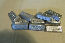 10 Pounds Lead Wheel Weight Ingots for Casting and Molding