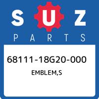 68111-18G20-000 Suzuki Emblem,s 6811118G20000, New Genuine OEM Part