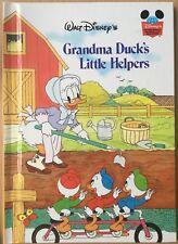 Walt Disney Grandma Duck's Little Helpers Grolier HB Book 2000 World of Reading