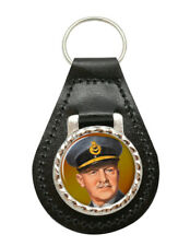 """Sir Arthur """"Bomber"""" Harris Leather Key Fob"""