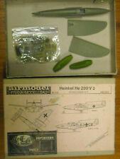 NIB 1:72 Airmodel Heinkel He 280 V3 epoxy resin kit started two colors