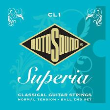 Rotosound CL1 Superior Nylon Ball End Classical Guitar Strings Made in the UK