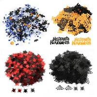 Halloween Symbolic Design Bright Confetti Party Table Scary Decoration Set
